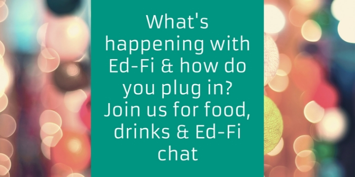 What's happening with Ed-Fi & how do you plug in?